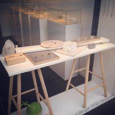"31 Likes, 5 Comments - Det'nlarsen - Charlotte Larsen (@detnlarsen) on Instagram: ""Det'nlarsen #windowdisplay #guldsmed #goldsmith #handcrafted #håndlavet #madeindenmark #copenhagen…"""