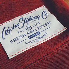 clothing label design