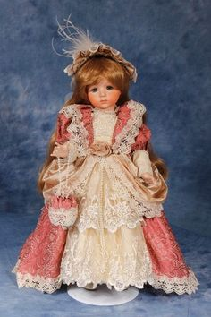 Sale Antique Reproduction Porcelain Doll by Maryse Nicole Reborn Victorian | eBay