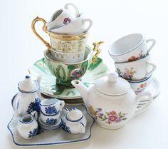 tiny tea party supplies