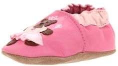 Robeez Soft Soles Princess Bear Crib Shoe (Infant/Toddler) Robeez. $18.51. Approved by the American Podiatric Medical Association. Soft and non-slip micro-suede soles to help baby learn to walk. Hand or machine wash. Provide comfort and protection. Elastic around ankle to keep shoes on baby's feet. Leather sole. leather
