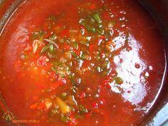 Recept na Salsa omáčku Salsa Roja (Salsa Dip) Turkey Meatballs, Homemade Sauce, Good Enough To Eat, Pesto, Chili, Curry, Smoothie, Baking, Ethnic Recipes