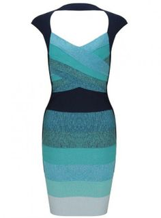 Ombre Open-Back Bandage Dress Blue H113L #ECS012994  ($99, original price is$118.8) http://www.udobuy.com/goods-12994.html#.Urz_TdLEeeo
