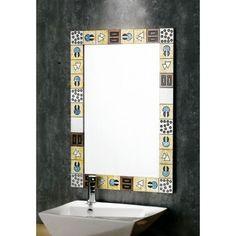 Karag 50016 90x63 cm Ξύλινος Καθρέφτης