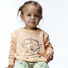 The Baggy Sweater Folka the bus – Gardner and the gang Winter Outfits, Kids Outfits, Cool Outfits, Gardner And The Gang, Baggy Sweaters, Kids Labels, Kid Styles, Fun Prints, Cool Kids