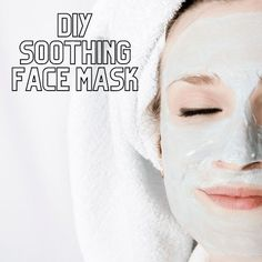 This DIY Soothing Face Mask is a simple and easy face mask that has just one easy ingredient. You're going to love this one!