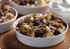 Driscoll's Blackberry Almond Bread Pudding.   Driscolls.com