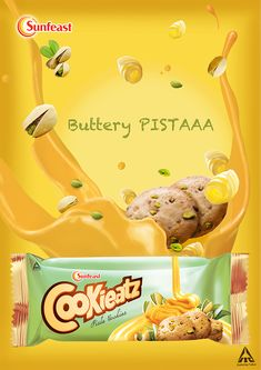 cookieatz - teaser campaign on Behance Biscuits Packaging, Cookie Packaging, Food Packaging Design, Packaging Design Inspiration, Brand Packaging, Creative Advertising, Advertising Design, Teaser Campaign, Interactive Web Design