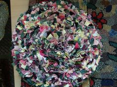 Rag rug - Jenni Stuart-Anderson by scrapiana, via Flickr