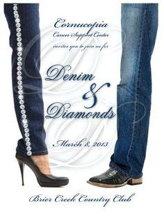 Denim And Diamonds Party Attire cakepins.com