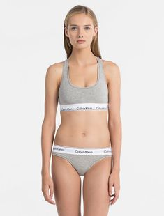 Shop Calvin Klein Bralette - Modern Cotton and stay up to date with the latest trends. Preteen Girls Fashion, Young Girl Fashion, Bra Lingerie, Women Lingerie, Little Girl Leggings, Calvin Klein Bralette, Cotton Bralette, Bralette Bikini, Bra And Panty Sets
