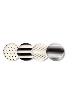 kate spade new york 'raise a glass' coasters (set of 4) available at #Nordstrom