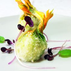 Fiori in panko bread tempura ripieni di spada - Fresco Pesce