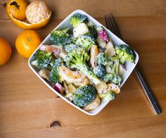 Healthy Vegan Asian Broccoli Salad from Fo Reals Life