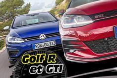 Essai Volkswagen Golf GTI et R : le test des Golf sportives 2017 - L'argus