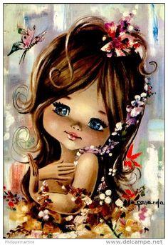 Postales > Temas > Ilustradores & fotógrafos / gallarda - Delcampe.net