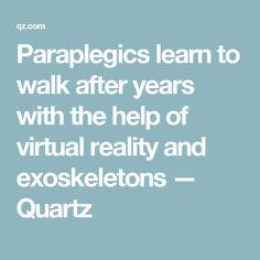 Paraplegics learn to