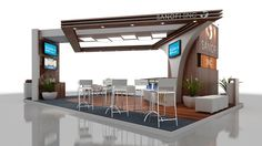 Stand 9,0m x 6,0m by Diogo Ludviger Raucci, via Behance
