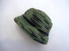 Baby Sun Hat Camouflage & Black Fisherman by MooreHomemadeDesigns, $10.00