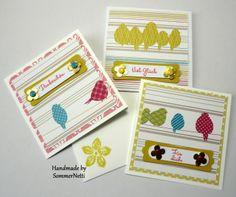 Minikarten für jede Gelegenheit...