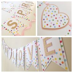 Sprinkled with Love Banner Baby Shower by GeminiCelebrations