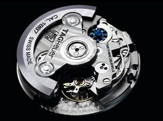 The TAG Heuer Carrera 1887 Watch Mechanism Design