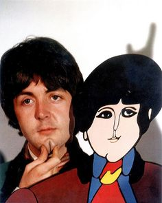 Beatles Paul Yellow Submarine  by rising70, via Flickr