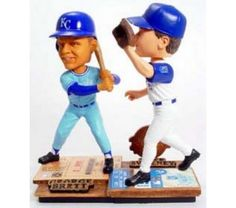 George Brett and Mike Sweeney Kansas City Royals Limited Edition!