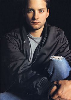Tobey Maguire the vegetarian!