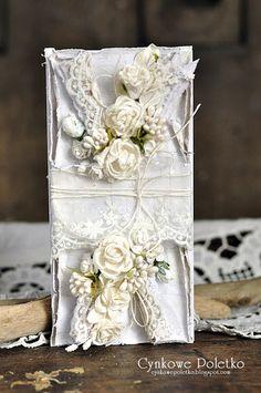 cynkowe poletko, Card with flowers