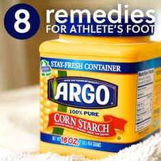 8 Remedies for Athlete's Foot - to get rid of the stink & itch.