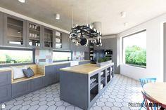Wystrój wnętrz - Kuchnia - pomysły na aranżacje. Projekty, które stanowią prawdziwe inspiracje dla każdego, dla kogo liczy się dobry design, oryginalny styl i nieprzeciętne rozwiązania w nowoczesnym projektowaniu i dekorowaniu wnętrz. Obejrzyj zdjęcia! - strona: 71