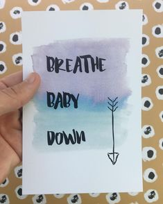 Another favorite affirmation! Visualizing the downward descent of your baby can…