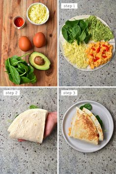 Viral Tortilla Hack (20 Global Filling Ideas Low-carb Options!) Low Carb Wraps, Healthy Wraps, Healthy Snacks, Healthy Foods To Eat, Healthy Eating, Healthy Recipes, Healthy Tortilla Wraps, Breakfast Tortilla, Breakfast Wraps