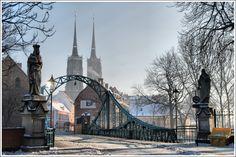 Bridges of Wroclaw - Tumski Bridge - Wroclaw, Dolnoslaskie