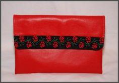 KOPERTÓWKA czerwona / czarna łączka