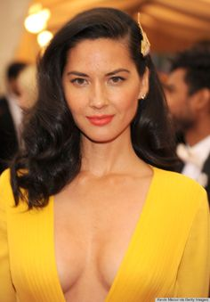 Met Gala Hair and Makeup 2014 Olivia Munn, Oklahoma, Libra, Hot Brunette, Hollywood Celebrities, Look At You, Girls In Love, Messy Hairstyles, Beautiful Actresses
