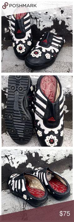 Unique Yohji Yamamoto Adidas Slides Unique Adidas Slides in excellent condition Adidas Shoes Sneakers
