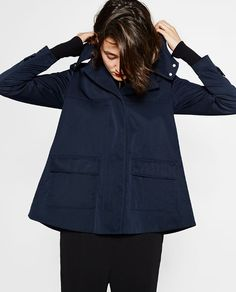 Image 6 of TECHNICAL FABRIC JACKET from Zara