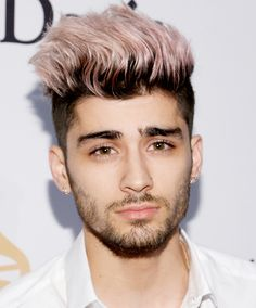 See 15 Celebs Who've Rocked the Pastel Hair Color Trend - Zayn Malik from InStyle.com