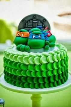 Teenage Mutant Ninja χελώνα κέικ