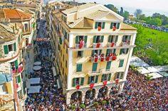 An Easter Parade in Corfu Town Corfu Greece