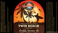mybeerbuzz.com - Bringing Good Beers & Good People Together...: Daytona Beach Brewing - Twin Beach Double Brown Al...