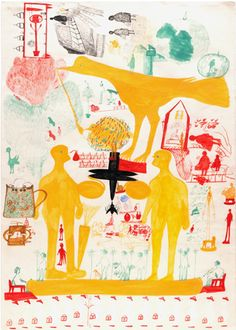 taisaborges:    http://www.outsiderfolkart.com/outsiderart/s-z/Carlo-Zinelli-ZIC003-Untitled.html