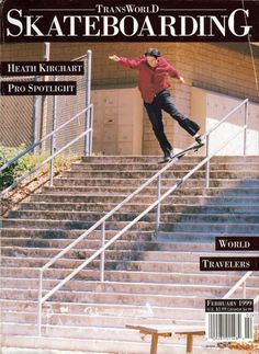 "Heath Kirchart Responsible for one of the greatest skate vid part of all time in Birdhouse skateboards classic ""The End"" 1998"