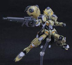GUNDAM GUY: HG 1/144 Gundam Gusion Rebake - Painted Build