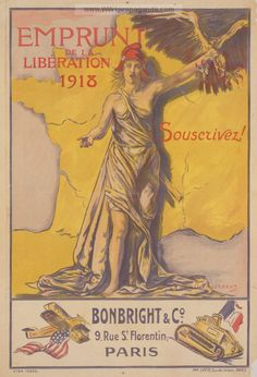 Examples of Propaganda from WW1 | WW1 War Bond Posters Page 12