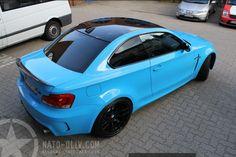 BMW 1series M Coupe - babyblue
