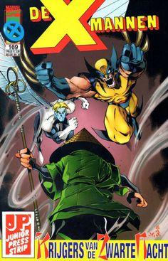 X-Mannen #169 Krijgers van de zwarte nacht