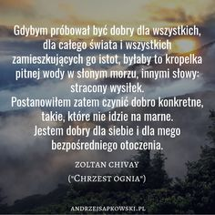 """Chrzest ognia"" #andrzejsapkowski #wiedźmin #chrzestognia #sagaowiedźminie #geraltzrivii #zoltanchivay #fantasy #dobroć The Witcher, Personal Development, Cool Words, Wisdom, Thoughts, Tips, Quotes, Quotations, Freshman Year"